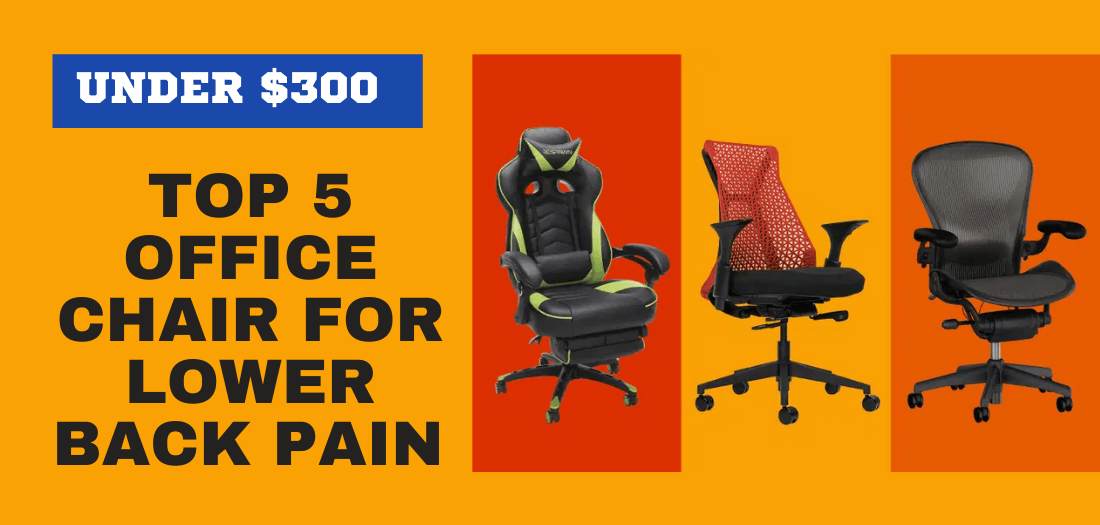 Best office chair for Back and neck pain under 300